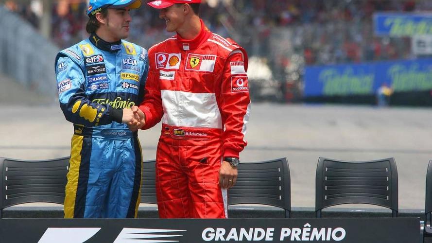 Alonso in same league as Senna, Schumacher - Berger