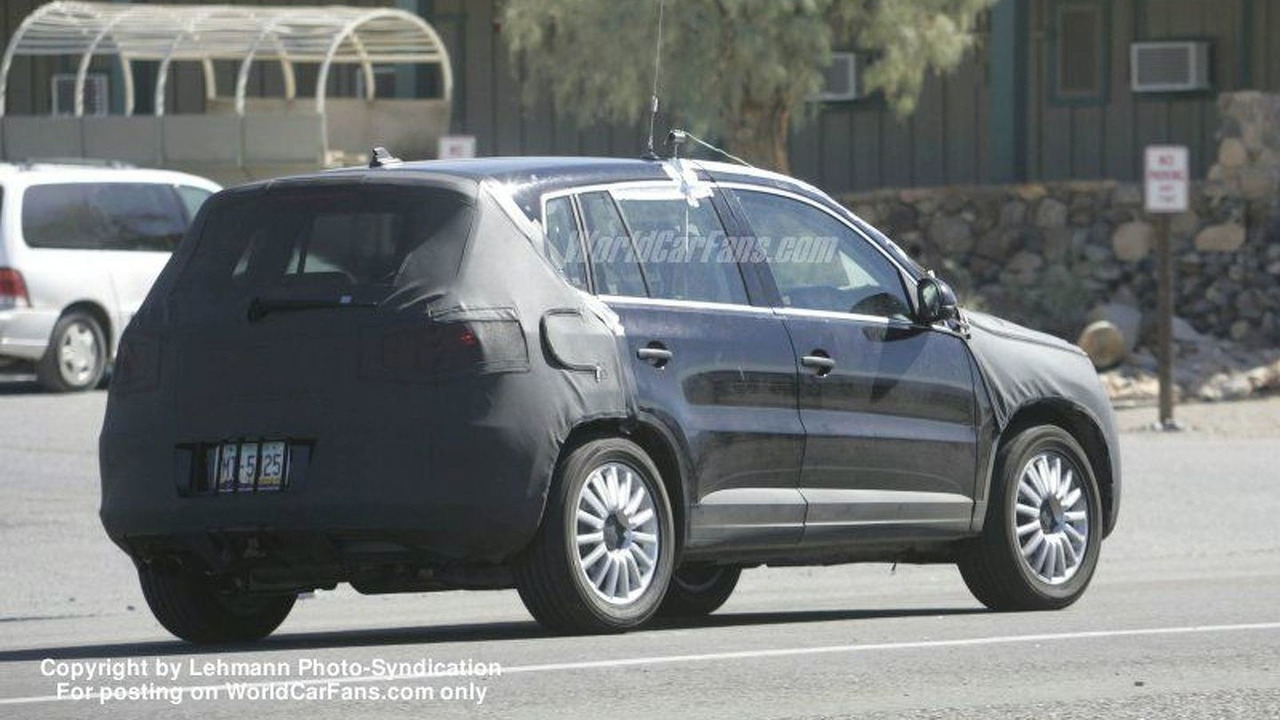 SPY PHOTOS: VW Tiguan
