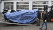 2012 BMW M6 prototype crashes again on Nürburgring