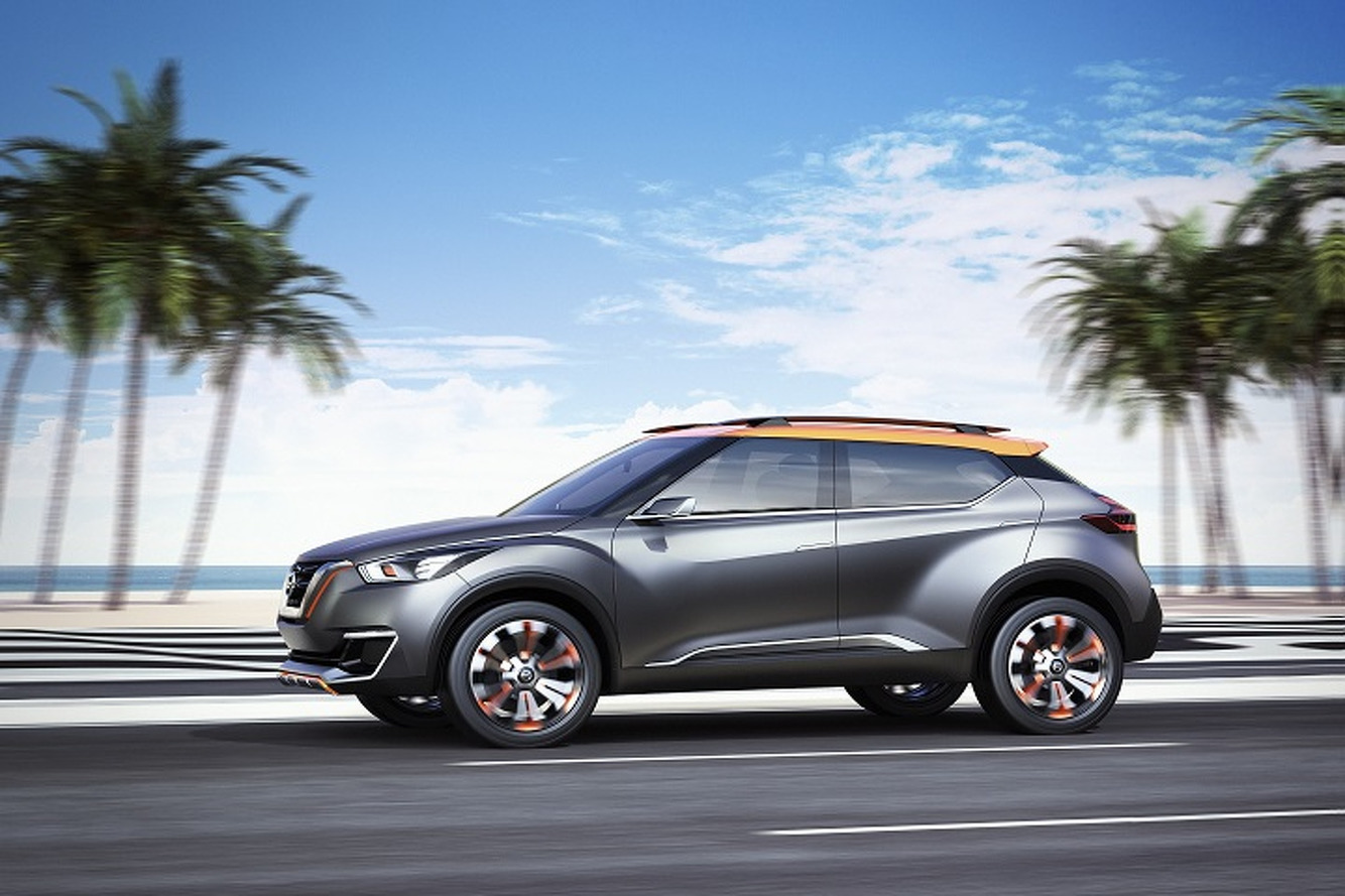 Nissan Kicks Concept Debuts in Brazil