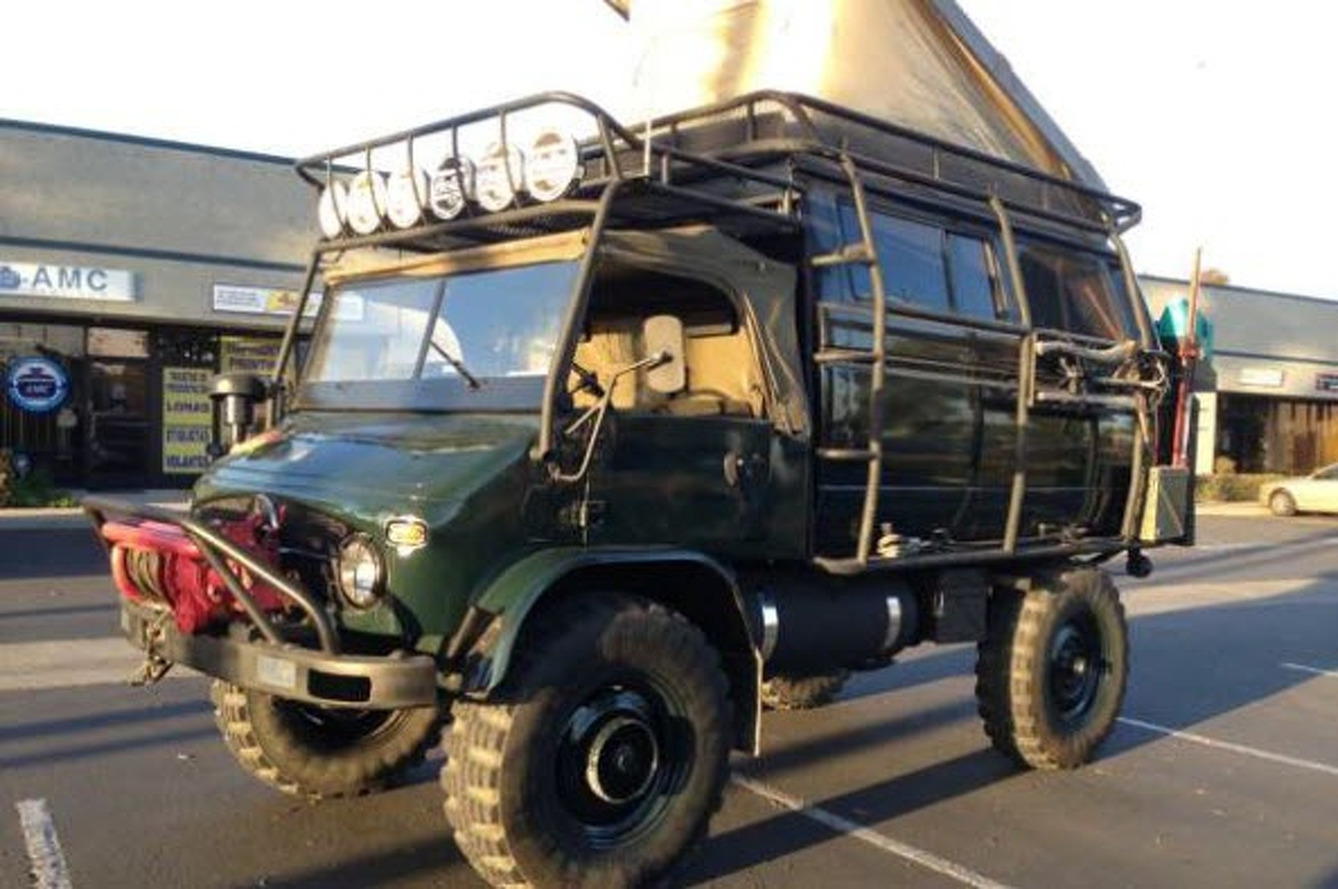 Classified of the Week: 1965 Unimog 4x4 For Sale