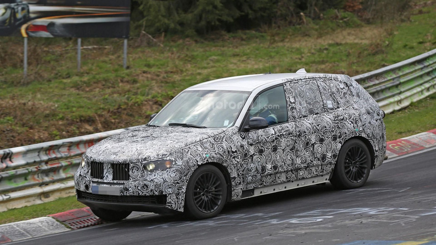 2018 BMW X5 spied on the Nürburgring