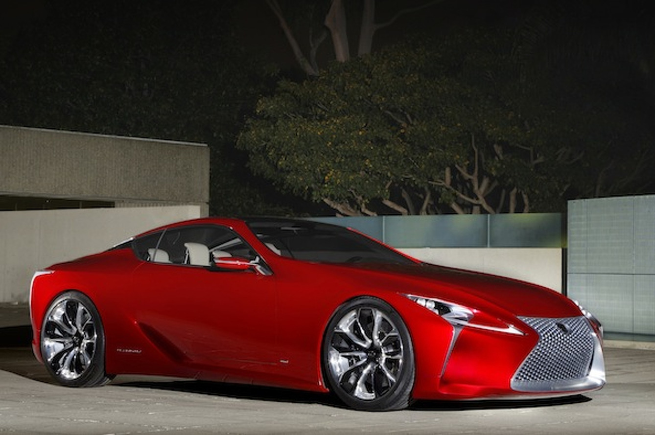 Lexus LF-LC Could be LFA Successor We've Been Longing For
