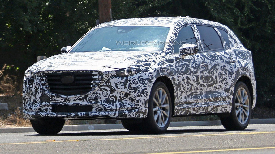 2017 Mazda CX-9 spied in the United States