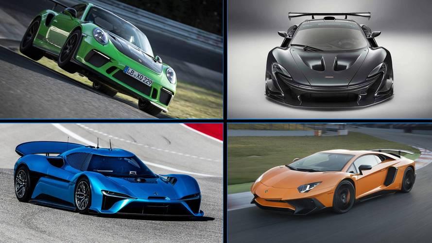 Nürburgring'in en hızlı 10 üretim otomobili