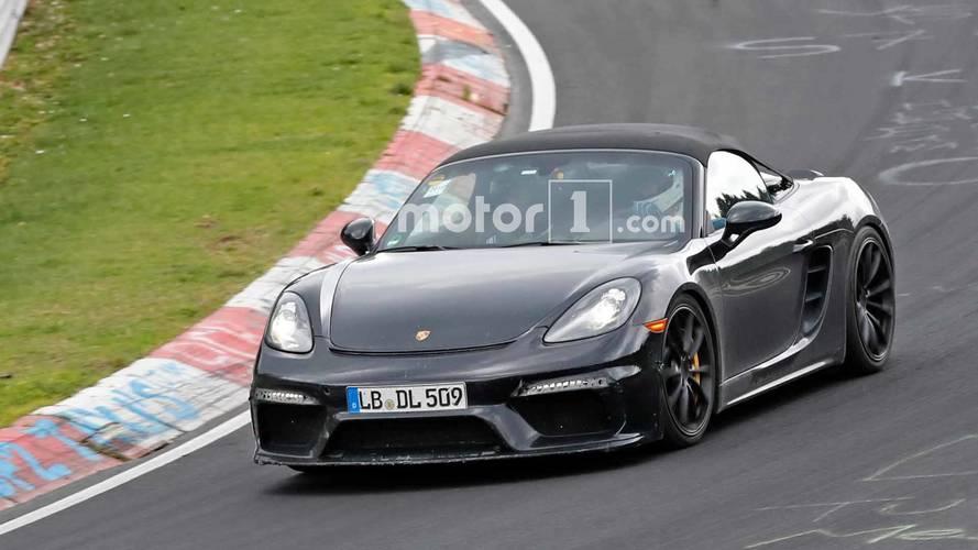 Porsche 718 Boxster Spyder Nürburgring Spy Shots