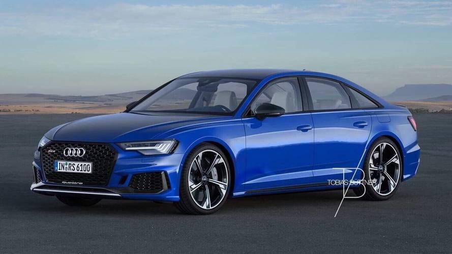 Audi RS6 Sedan Rendered To Fuel Rumors About The Model's Return