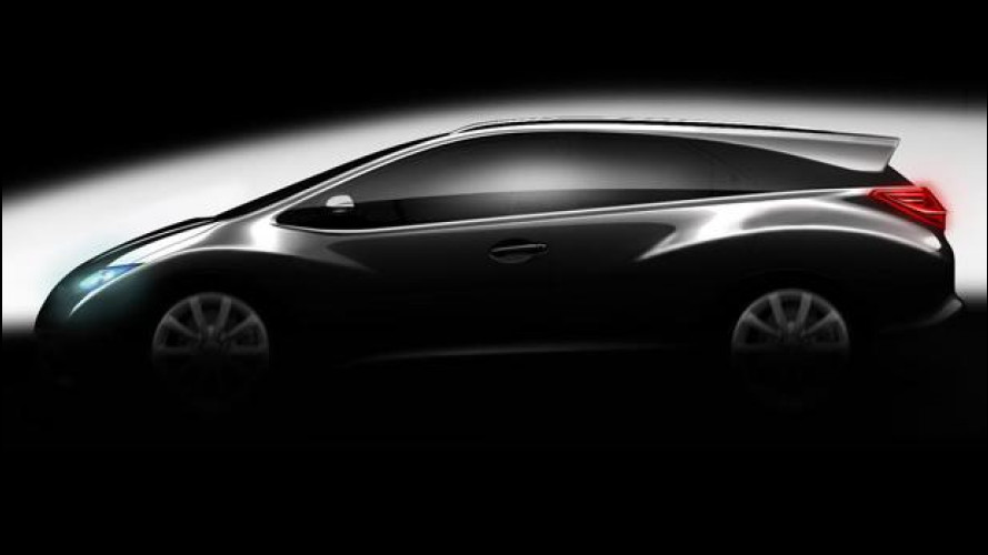 E' in arrivo la Honda Civic station wagon