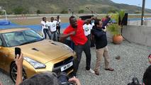 Usain Bolt & Nissan GT-R Bolt Spec 06.5.2013