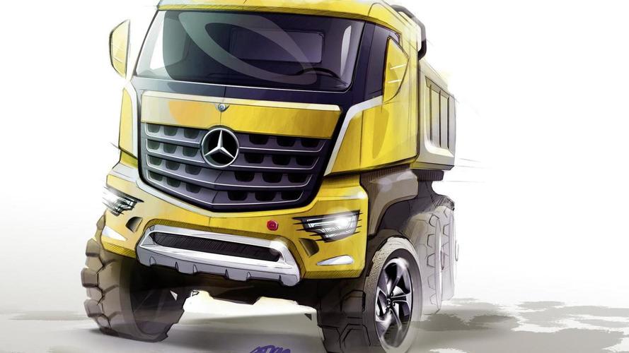 2013 Mercedes-Benz Arocs dump truck previewed