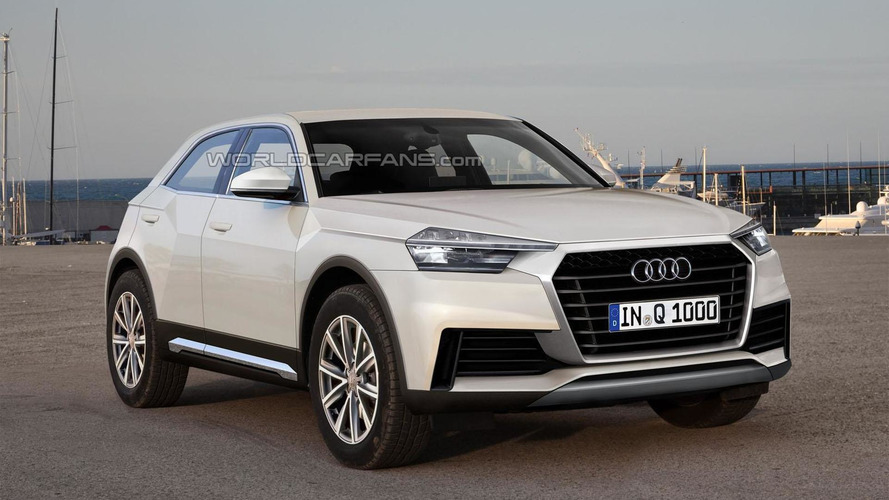 Audi reportedly planning Junior two-door crossover to slot below Q1