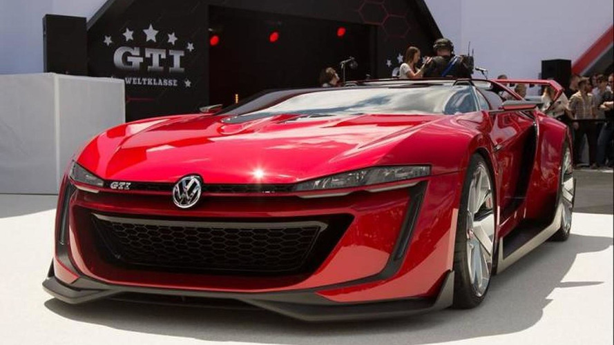 Volkswagen GTI Roadster concept introduced at Worthersee