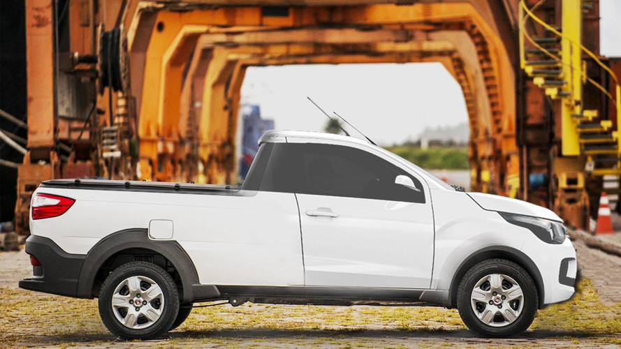 Fiat X1P, substituta da Strada, será baseada no Mobi, diz site