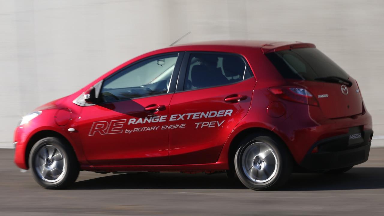 Mazda2 RE Range Extender