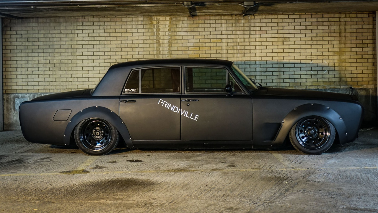 Evil Rolls Royce Silver Shadow Drift Car Selling For Localise