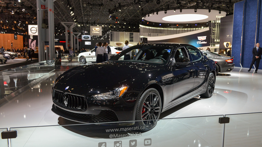 Maserati Ghibli Nerissimo Puts On A Black Suit For A Night Out