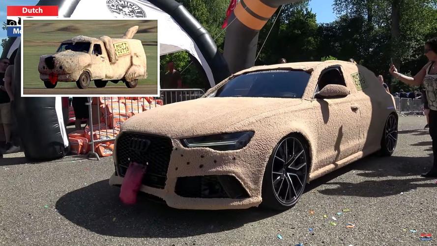 Audi Rs6 Shaggin Wagon Is Tribute To Dumb And Dumber Van