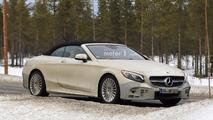 Makyajlı Mercedes-Benz S-Sınıfı Cabriolet casus fotoğrafları