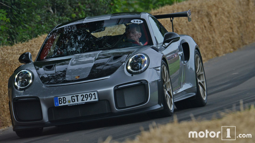 Goodwood 2017 - La Porsche 911 GT2 RS passe à l'action!