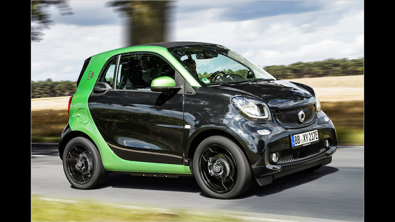 Platz 4: Smart Fortwo Electric Drive