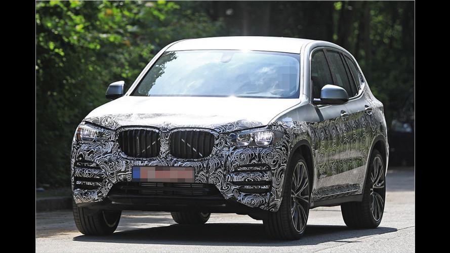 Erwischt: Der neue BMW X3 ist fertig