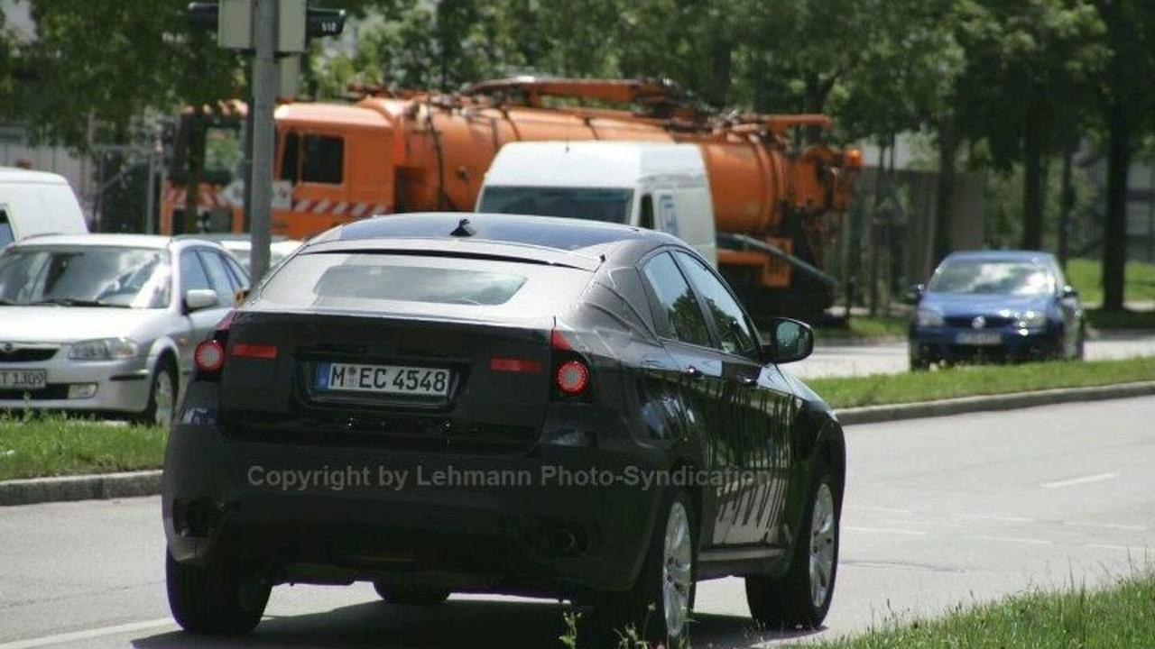 BMW X6 spy photos in Munich