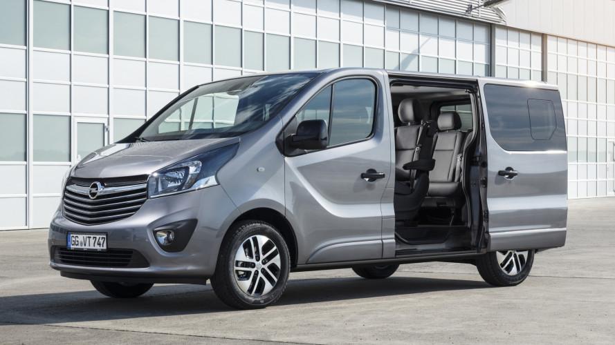 Opel Vivaro Tourer, people mover in stile tedesco