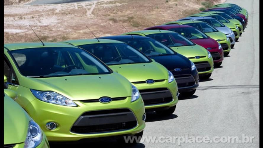 Vendas no Reino Unido aumentam mais de 26% em março; Fiesta é o mais vendido