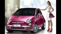 Para meninas: Fiat 500 ganha série limitada Pink Edition no Reino Unido