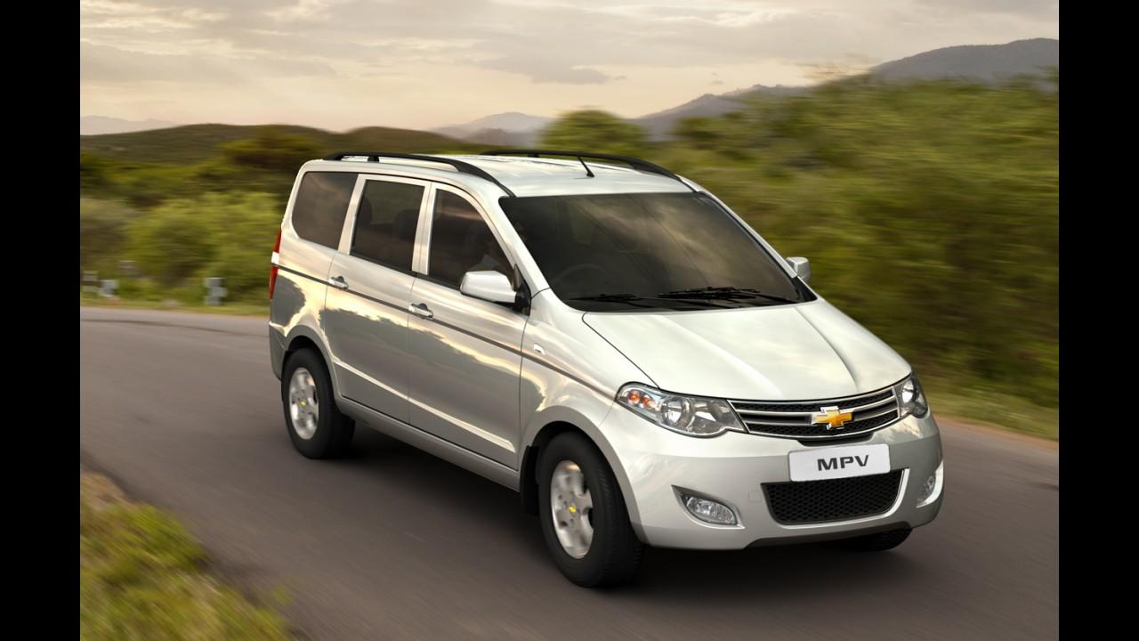 Nova Délhi: Chevrolet apresenta minivan MPV Concept para os indianos