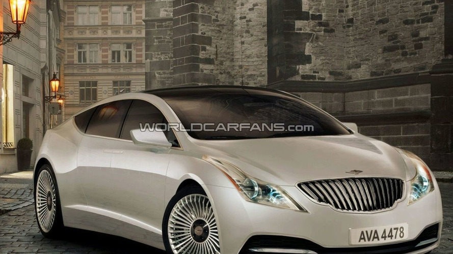 Rendered Speculation: Lagonda Sedan