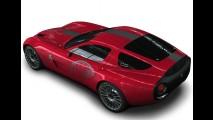 Concorso d'Eleganza Villa d'Este: Alfa Romeo TZ3 Corsa 2010 by Zagato Milano é revelado
