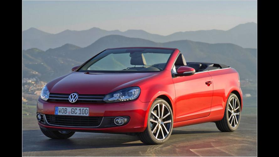 VW gibt Stoff: Das ist das neue Golf Cabrio