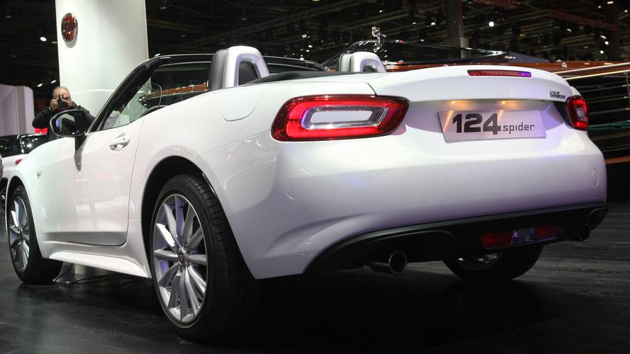 Fiat 124 Spider yeni yıldan itibaren Türkiye'de satışa sunuluyor