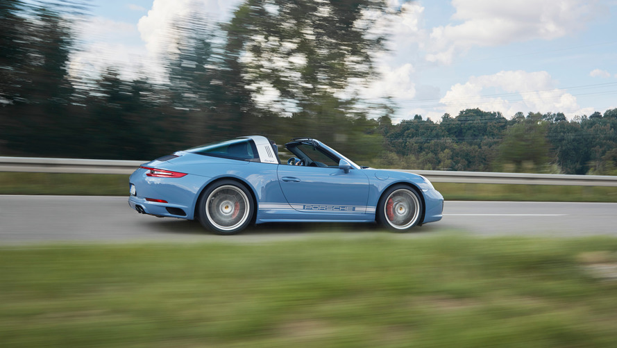 Porsche Exclusive adds vintage flair to special edition 911 Targa