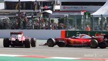 Vettel apologizes to Raikkonen for Turn 1 crash at Spa