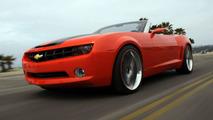 Chevy Camaro Convertible Concept