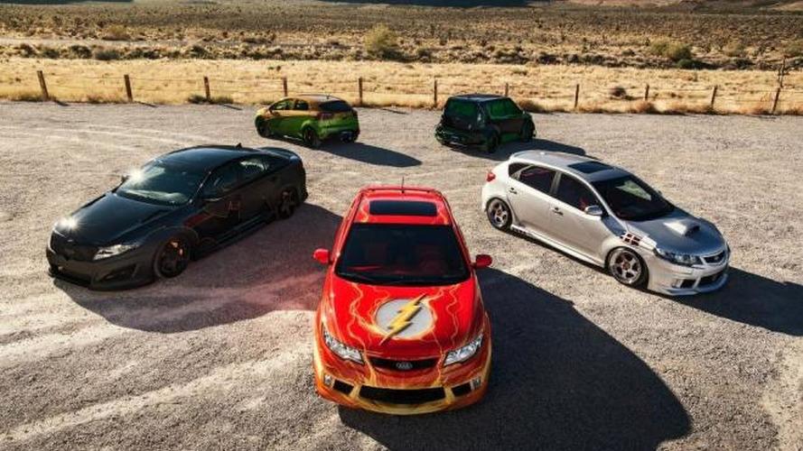 Kia brings five Justice League-inspired cars to SEMA
