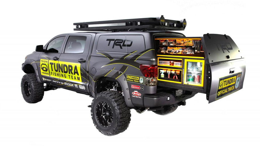 Custom Pro Bass Anglers Toyota Tundra to make debut at SEMA next week