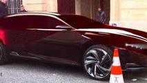 Citroen DS concept spotted in Paris 20.3.2012