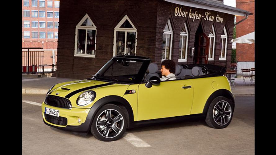 Das neue Mini Cooper Cabrio kommt im Frühjahr 2009