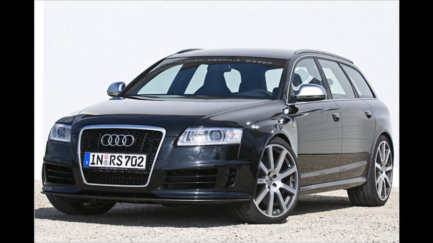 Ein bissl was geht immer: Monster-Audi-RS6 von MTM