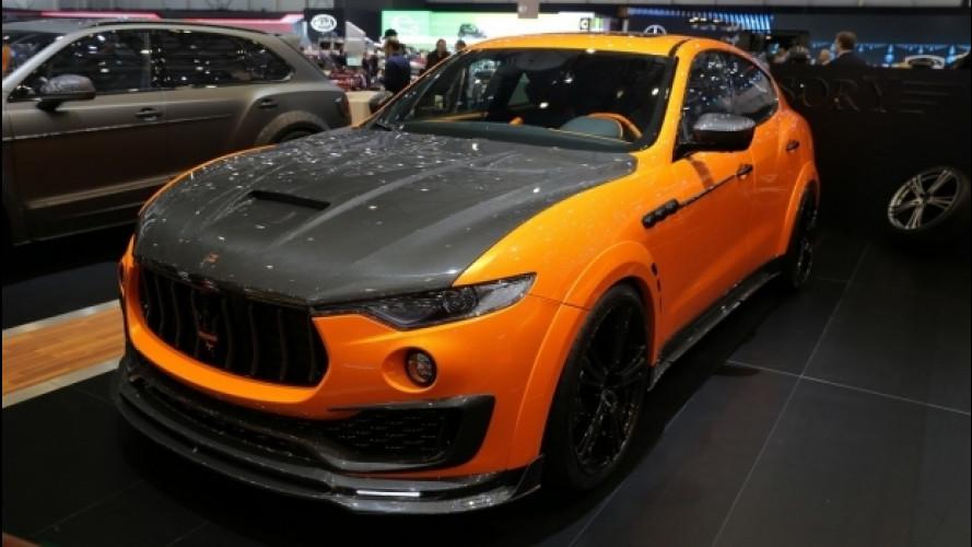 Maserati Levante, più esagerata che mai grazie al tuning