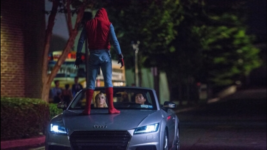 Nuova Audi A8, anteprima in Spider-Man: Homecoming