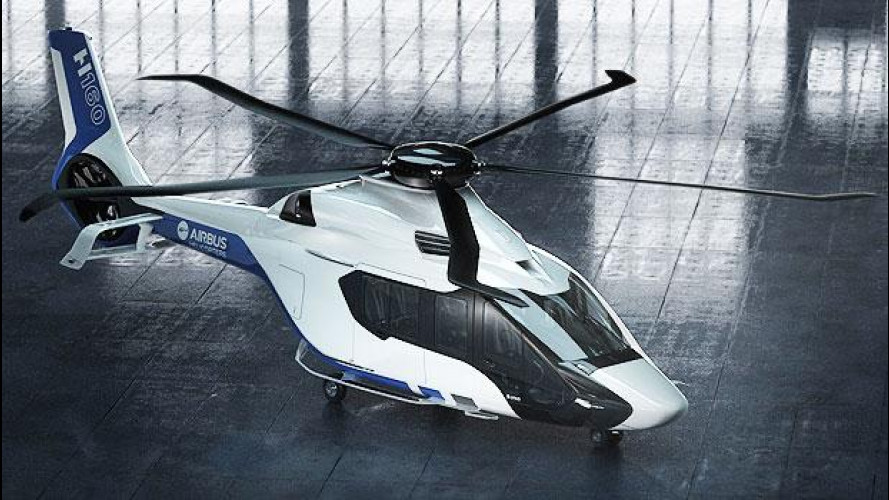 Airbus H160, l'elicottero disegnato da Peugeot atterra a Dubai [VIDEO]