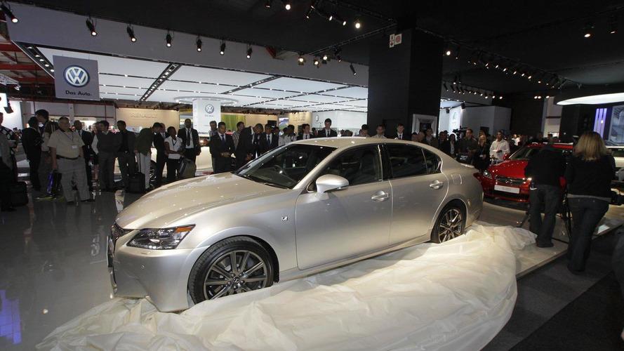 2013 Lexus GS 350 F Sport unveiled in Johannesburg