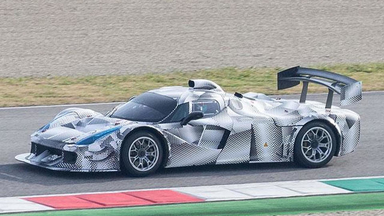 Possible Ferrari LMP1 prototype spy photo