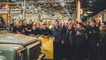 Last Land Rover Defenders built in Solihull
