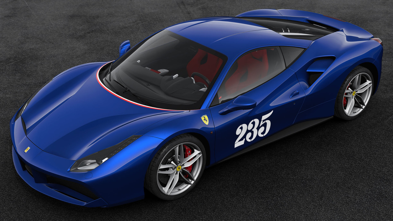 Ferrari 70th Anniversary Livery Number #11