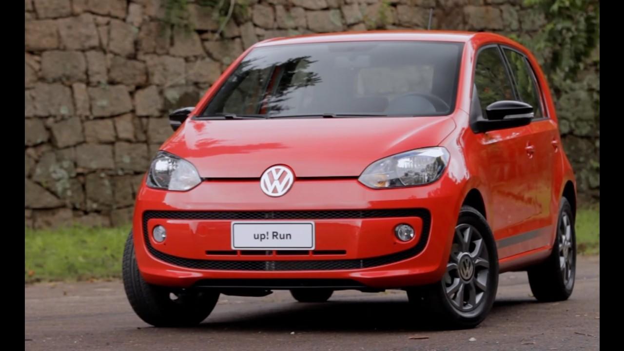 Volkswagen up! e Fox ganham série especial Run - veja preços